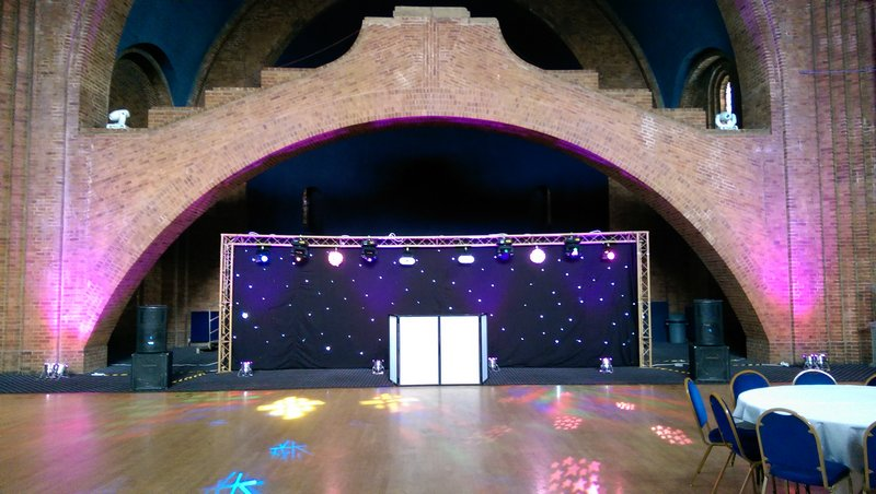 Large Disco Rig Hire
